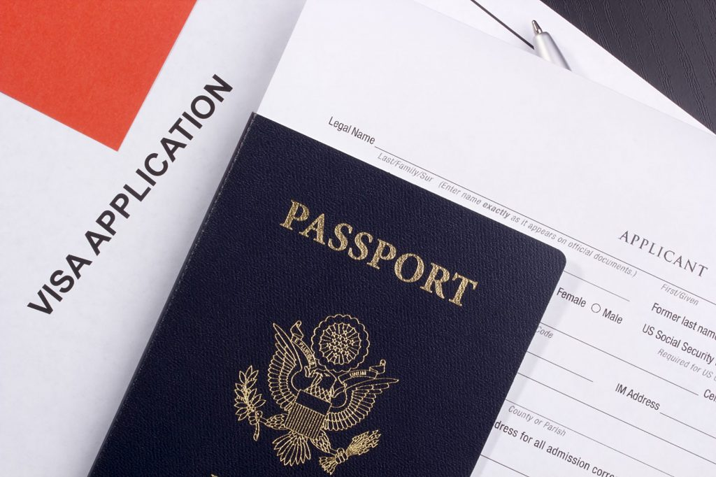Official immigration documents